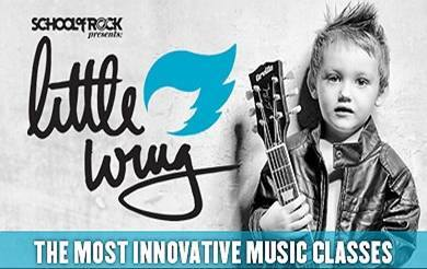 School Of Rock Little Wing Class -  For 3.5  - 5 Year Olds @ All Things Kids Georgetown