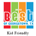 2013 Best of Georgetown, Best Kid Friendly Store