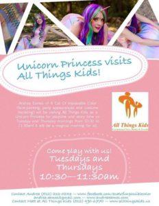 Unicorn Princess @ Austin Domain  | Austin | Texas | United States