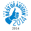 2014 Austin Chronicle, Best Of Austin