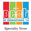 2013 Best of Georgetown, Best Specialty Shop